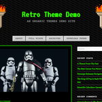 90s Retro WordPress Theme