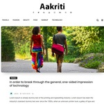 Aakriti Personal Blog Wordpress Theme