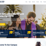 Academic Hub Wordpress Theme