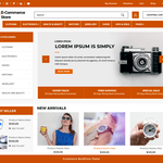 Advance Ecommerce Store Wordpress Theme