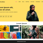 Advance Portfolio WordPress Theme