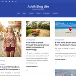 Advik Blog Lite Wordpress Theme