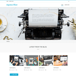 Agama Blue Wordpress Theme