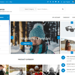 Agency Ecommerce WordPress Theme