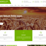 Agronomics Lite Wordpress Theme