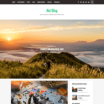 Aki Blog Wordpress Theme