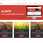 Alante Boxed Wordpress Theme