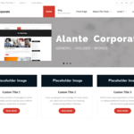 Alante Corporate WordPress Theme