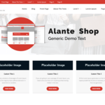 Alante Shop Wordpress Theme