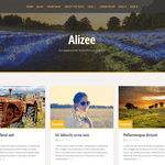 Alizee Wordpress Theme