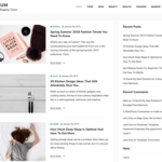 Allium Wordpress Theme