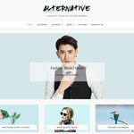 Alternative Wordpress Theme