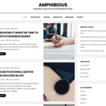 Amphibious WordPress Theme