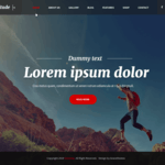 Amplitude Wordpress Theme
