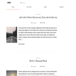Aniki WordPress Theme
