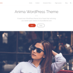 Anima Wordpress Theme