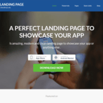 App Landing Page WordPress Theme