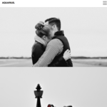 Aqua Portfolio Wordpress Theme