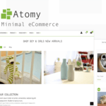 Atomy WordPress Theme
