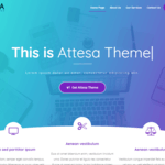 Attesa Wordpress Theme