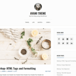 Avani Wordpress Theme
