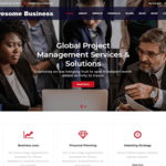 Awesome Business Wordpress Theme
