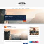 azeria WordPress Theme