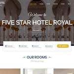 BA Hotel light WordPress Theme