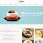 Bakes And Cakes Wordpress Theme