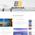 Balanced Blog Wordpress Theme