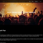 Bands WordPress Theme