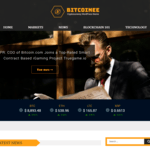 Bitcoinee Wordpress Theme
