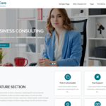 BizCare Wordpress Theme
