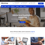 Bizwhoop WordPress Theme