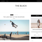 BlackLite Wordpress Theme