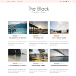 Blacklite Gird Wordpress Theme