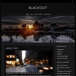 Blackoot Lite Wordpress Theme