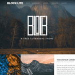Block Lite Wordpress Theme