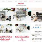 Blog Circle Wordpress Theme