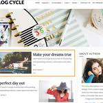 Blog Cycle Wordpress Theme