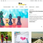 Blog Design Lite Wordpress Theme
