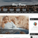 Blog Diary WordPress Theme