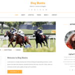 Blog Mantra Wordpress Theme