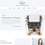 Blog Personal Wordpress Theme