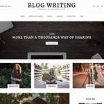 Blog Writing Wordpress Theme