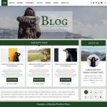 Blogger Base Wordpress Theme