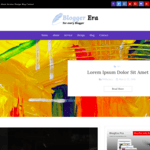 Blogger Era Plus Wordpress Theme