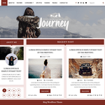Blogger Hub Wordpress Theme
