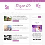 Blogger Lite Wordpress Theme