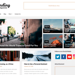 Bloggers Magazinely WordPress Theme